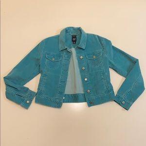 GAP corduroy button up jacket